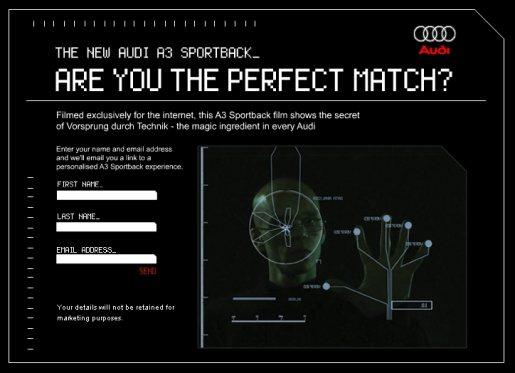 Audi A3 Perfect Match