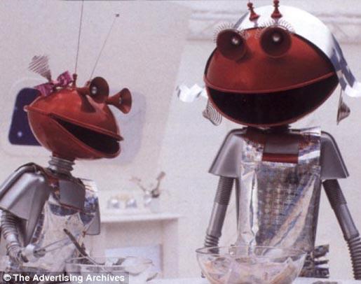 Martian Smash characters