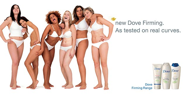 Dove Firming Tested on Real Curves