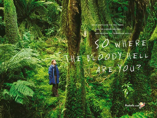 Tourism Australia Rainforest