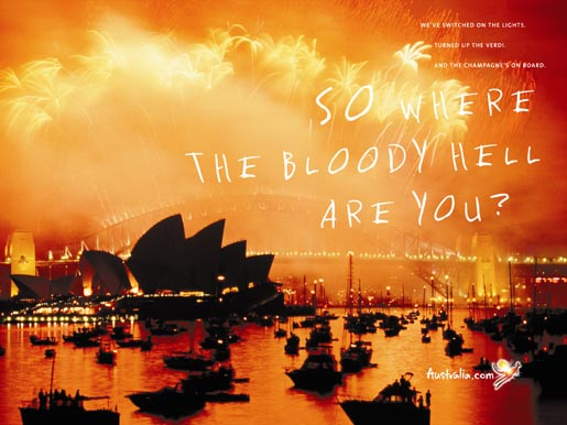 Tourism Australia Sydney Fireworks