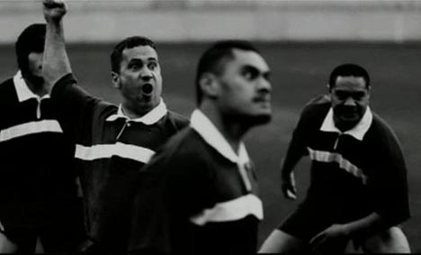 Maori haka in William Lawson's Scotch TV Ad