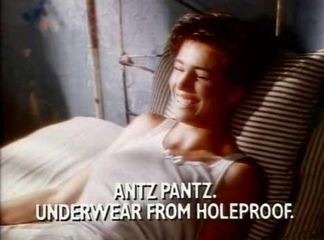 Original Antz Pantz TV Ad from 1990