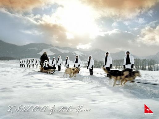 Qantas choir in Montana