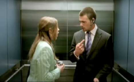 Embarrassing scene in Pepsi Light lift TV ad