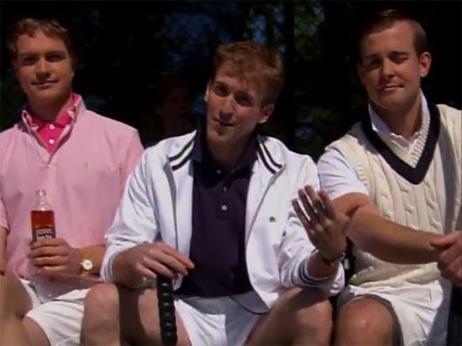 Guys in Smirnoff Tea Partay ad