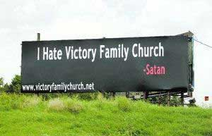 Satan hates Victory Family Church