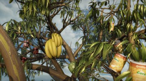 Produce in Australian Grown Tree TV ad