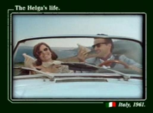Helga's Life Italy 1961