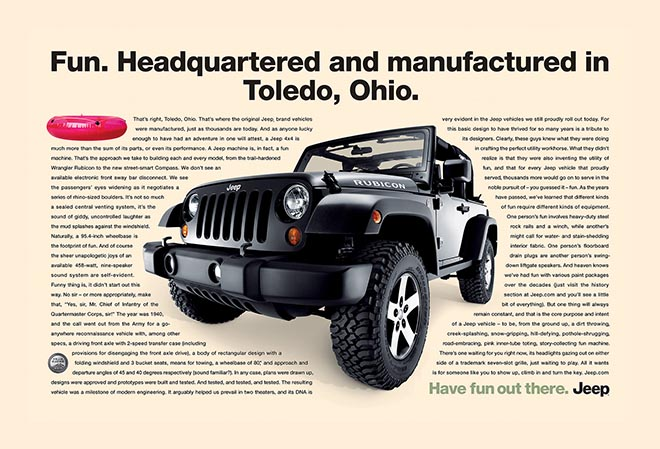 Jeep Fun made in Toledo