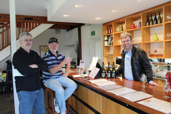 Hahndorf Hill Winery wine tasting