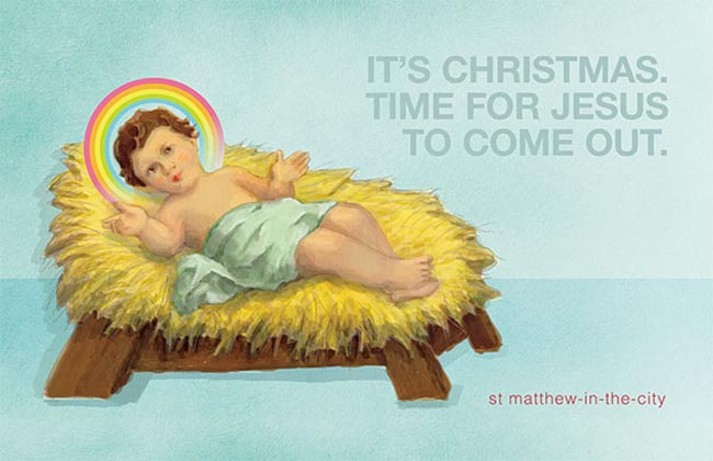 St Matthews Christmas Billboard 2012