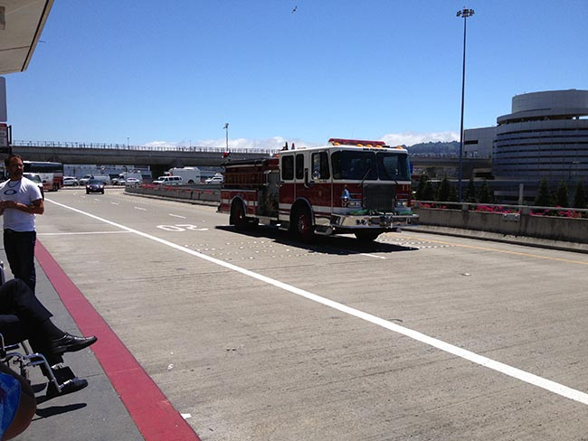 SFO Fire Tender