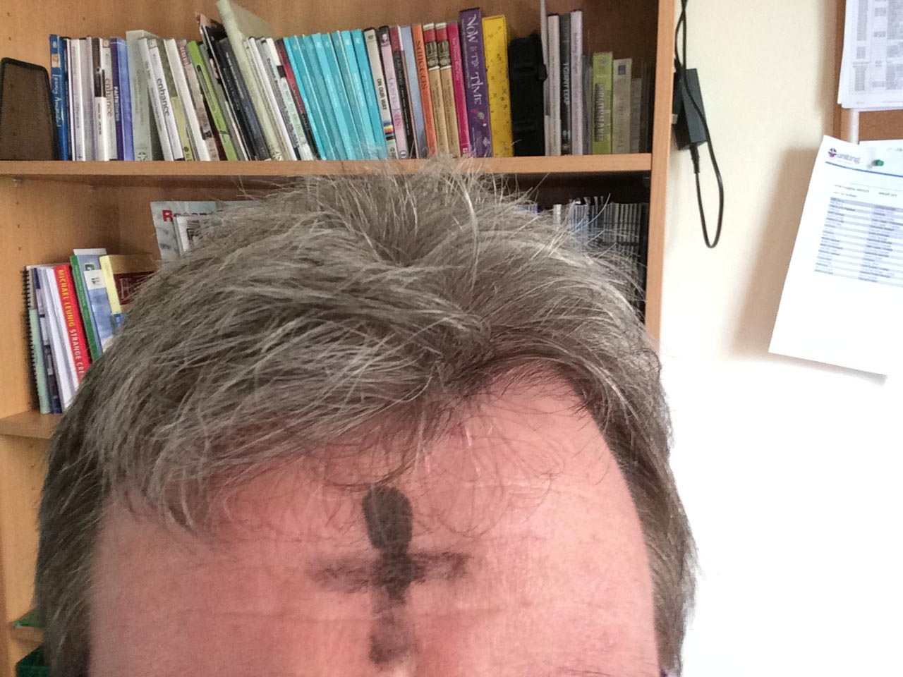 Ash Wednesday Selfie