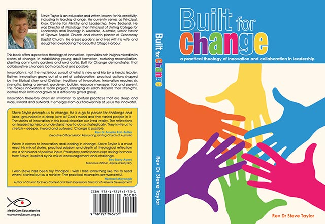 Built for Change book cover